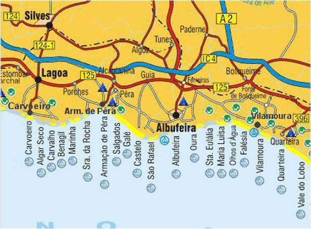 Algarve Toeristische Informatiegids Stranden